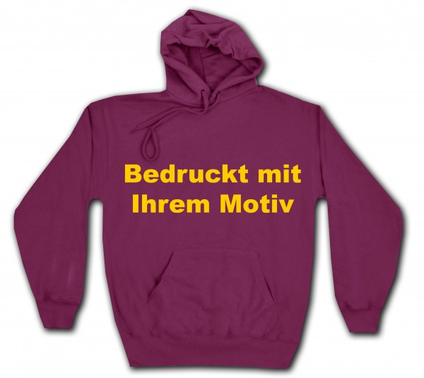 Classic Hooded Sweat - Kapuzenpullover - burgund