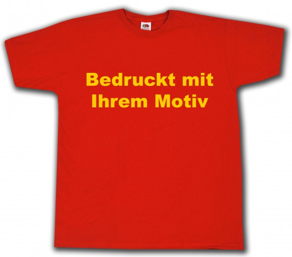 Valueweight - Tshirt - rot