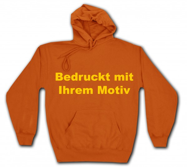 Classic Hooded Sweat - Kapuzenpullover - orange