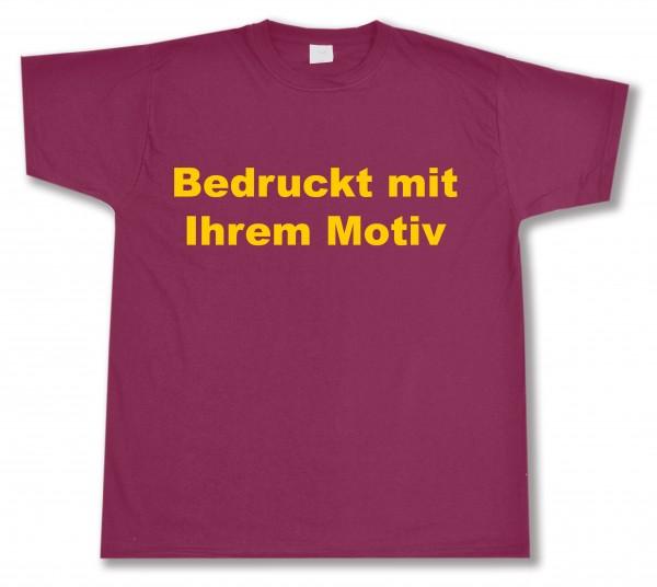 Valueweight - Tshirt - burgund