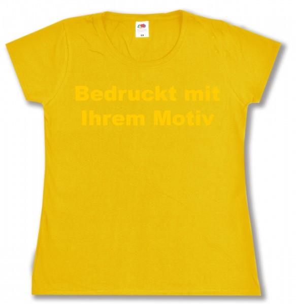 Ladies' Valueweight - tailliertes Tshirt - sonnenblumengelb