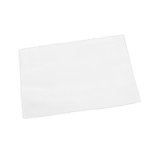 Glasreinigungstuch, Display-Tuch, Farbe Weiß, Größe 100 x 150 mm