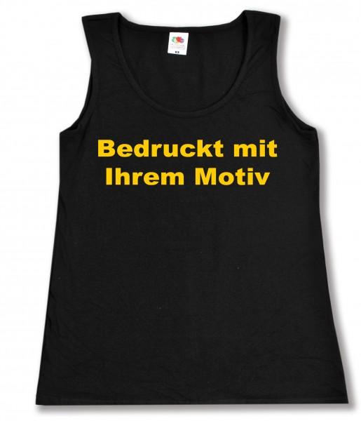 Ladies' Valueweight Vest - tailliertes Tanktop - schwarz